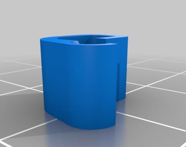 1.75毫米 线夹 3D模型  图8