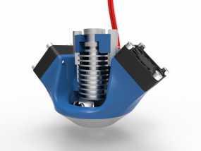 K8200 E3D环式冷却机 3D模型