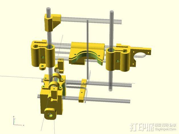 RepRap 3D打印机 3D模型  图3