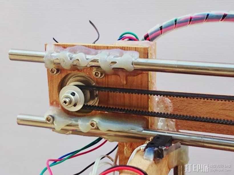木质repstrap 3D打印机 3D模型  图4
