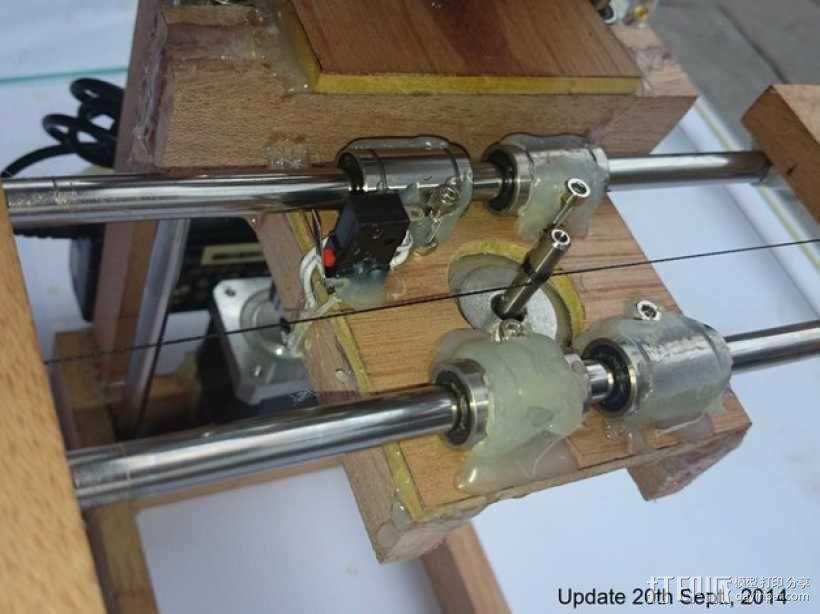 木质repstrap 3D打印机 3D模型  图2