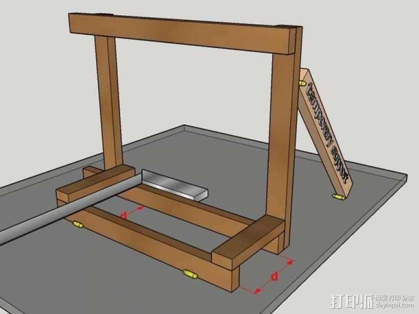 木质repstrap 3D打印机 3D模型  图10