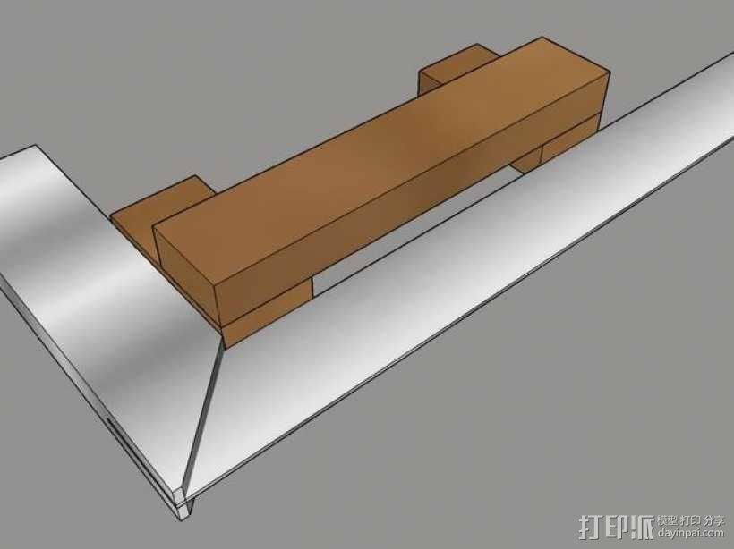 木质repstrap 3D打印机 3D模型  图18