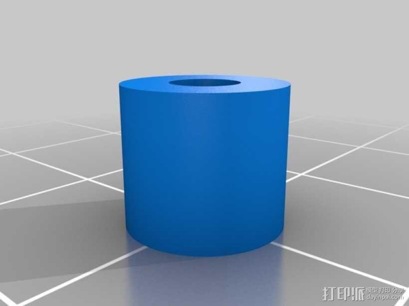 75齿轮驱动挤出机 3D模型  图3