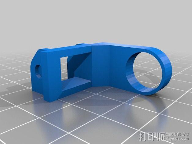 Reprap i3 3D打印机连接线保护装置 3D模型  图2