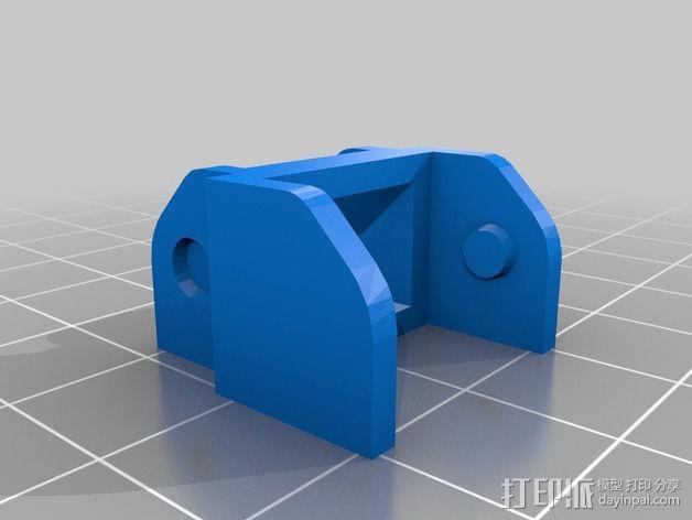 Reprap i3 3D打印机连接线保护装置 3D模型  图3