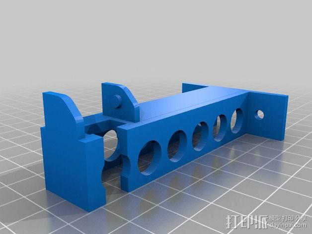 Reprap i3 3D打印机连接线保护装置 3D模型  图4