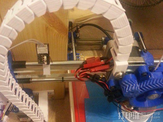 Reprap i3 3D打印机连接线保护装置 3D模型  图5