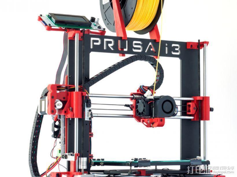 Prusa i3 Hephestos 3D打印机 3D模型  图2