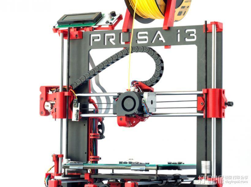 Prusa i3 Hephestos 3D打印机 3D模型  图3