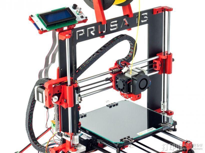 Prusa i3 Hephestos 3D打印机 3D模型  图5