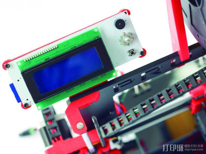 Prusa i3 Hephestos 3D打印机 3D模型  图6