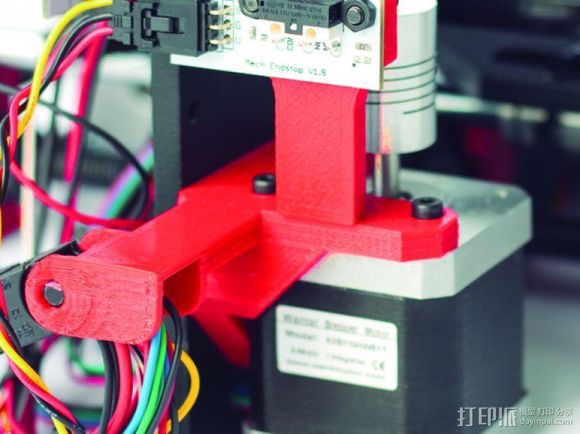 Prusa i3 Hephestos 3D打印机 3D模型  图8