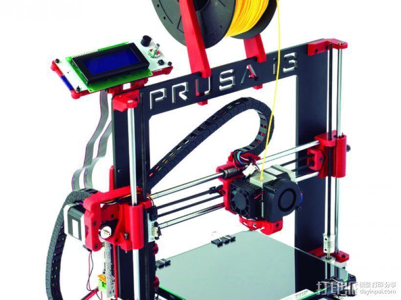 Prusa i3 Hephestos 3D打印机 3D模型  图9