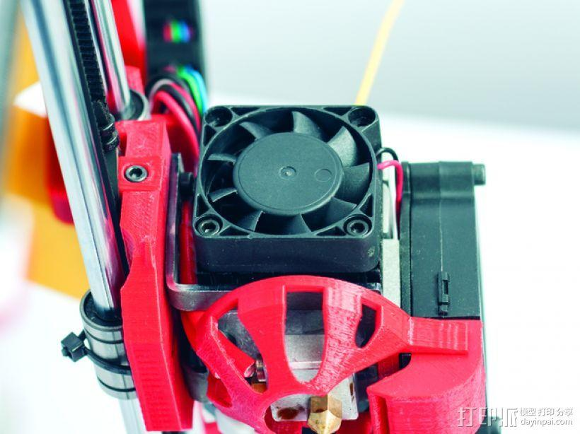 Prusa i3 Hephestos 3D打印机 3D模型  图11