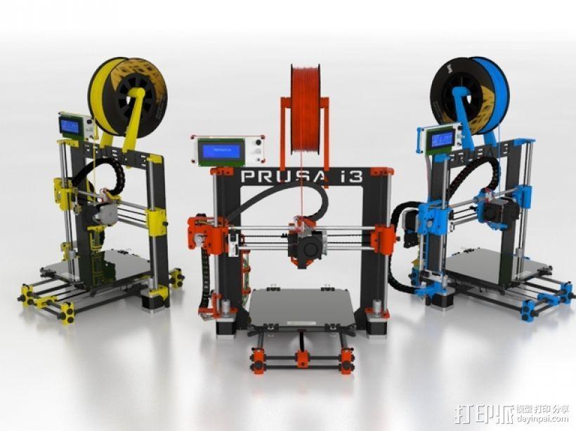 Prusa i3 Hephestos 3D打印机 3D模型  图13