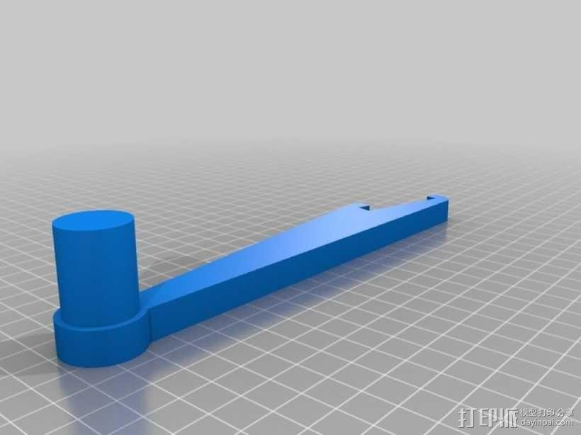 Prusa i3 Hephestos 3D打印机 3D模型  图17