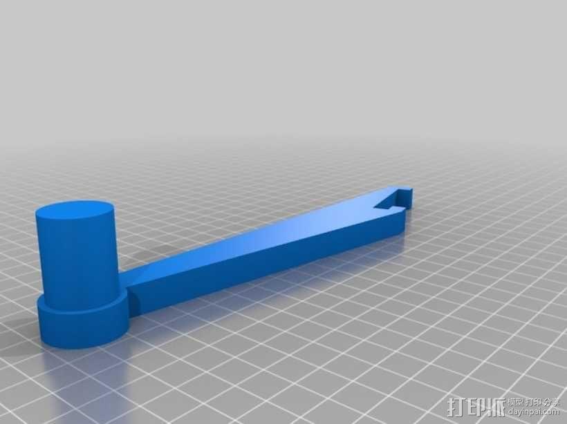 Prusa i3 Hephestos 3D打印机 3D模型  图16