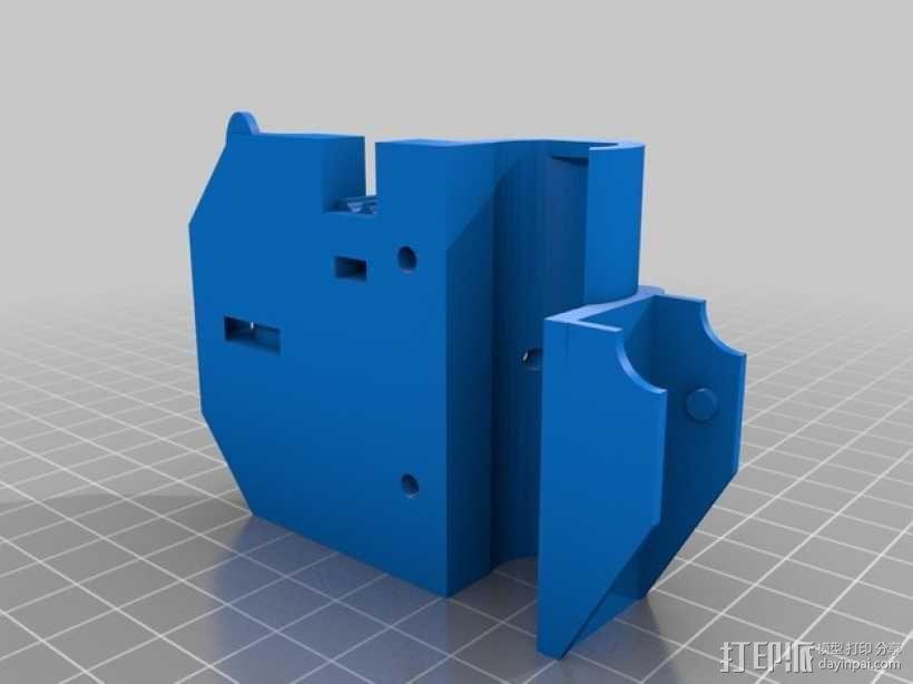 Prusa i3 Hephestos 3D打印机 3D模型  图21