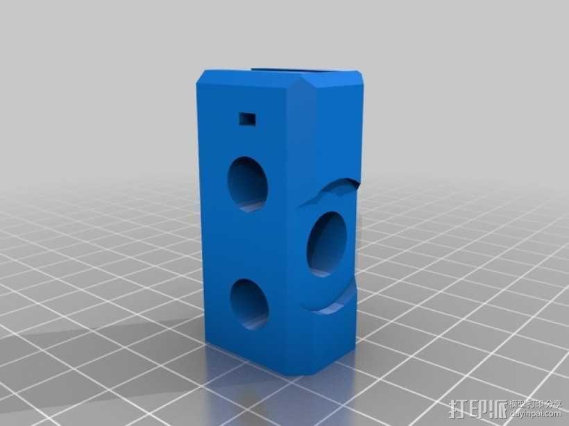 Prusa i3 Hephestos 3D打印机 3D模型  图26