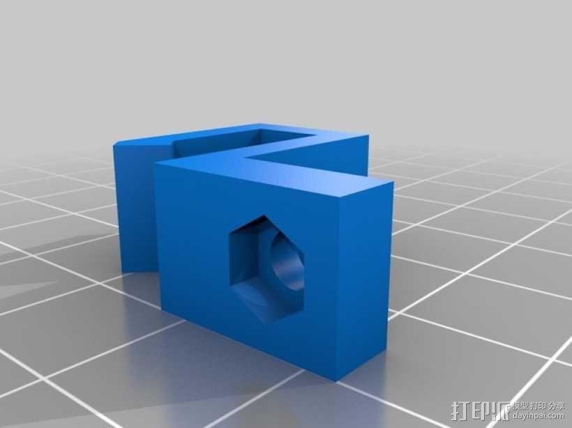 Prusa i3 Hephestos 3D打印机 3D模型  图28