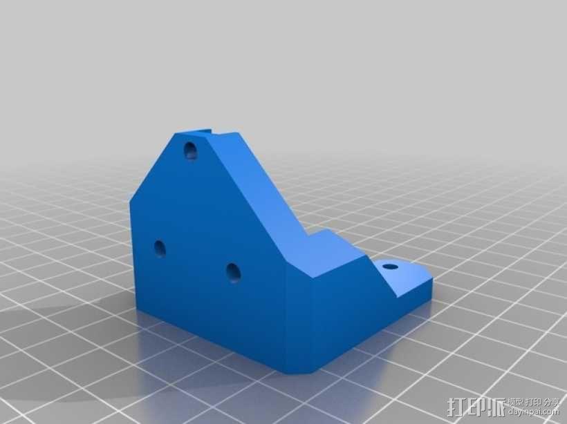 Prusa i3 Hephestos 3D打印机 3D模型  图33