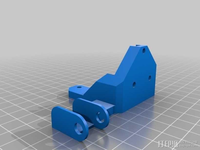 Prusa i3 Hephestos 3D打印机 3D模型  图35