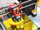定制化Prusa i3 3D打印机挤出机 3D模型 图1