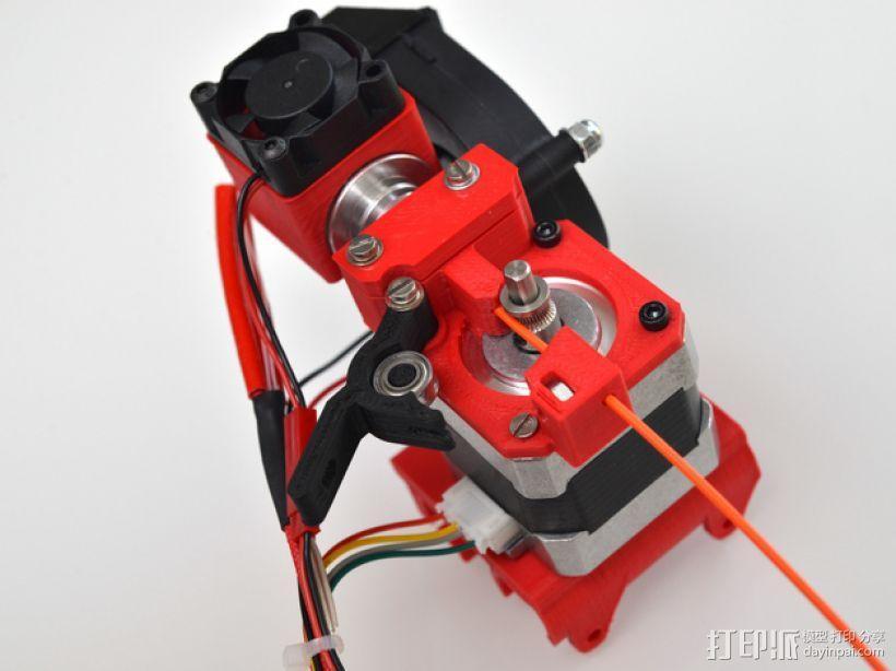 定制化Prusa i3 3D打印机挤出机 3D模型  图3