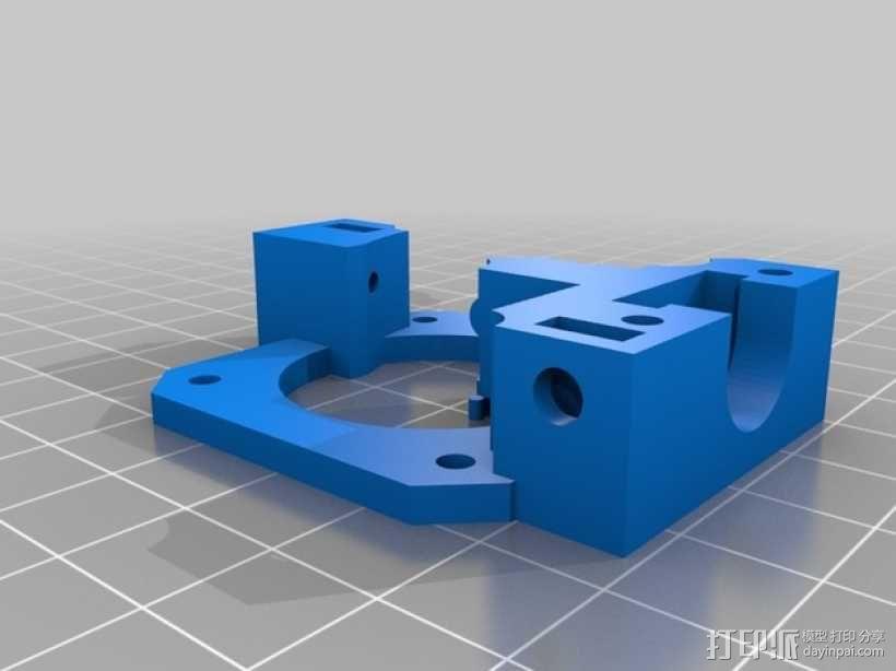 定制化Prusa i3 3D打印机挤出机 3D模型  图5
