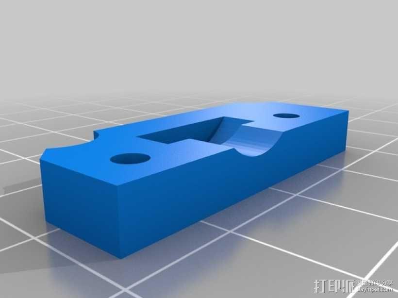 定制化Prusa i3 3D打印机挤出机 3D模型  图7