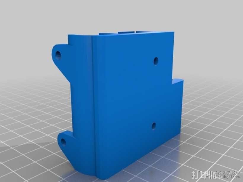 定制化Prusa i3 3D打印机挤出机 3D模型  图9