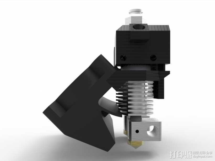 Prusa i3 3D打印机双挤出机 3D模型  图1