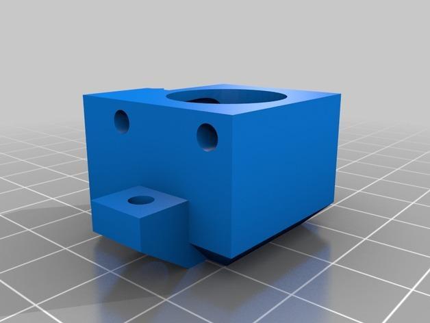 Prusa i3 3D打印机双挤出机 3D模型  图3