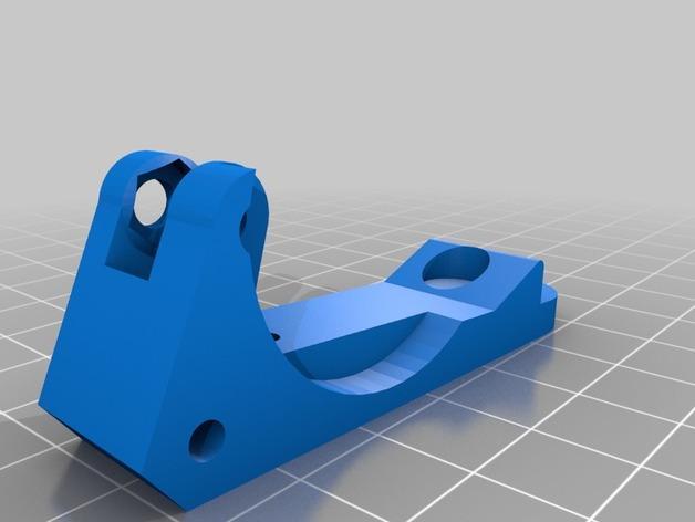 Prusa i3 3D打印机双挤出机 3D模型  图7