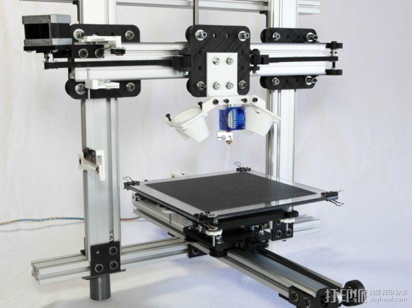 MSB 3D打印机 3D模型  图1