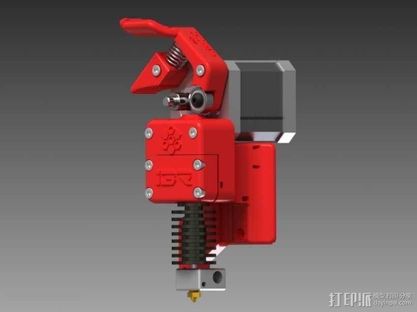 3D直接驱动挤出机 3D模型  图1