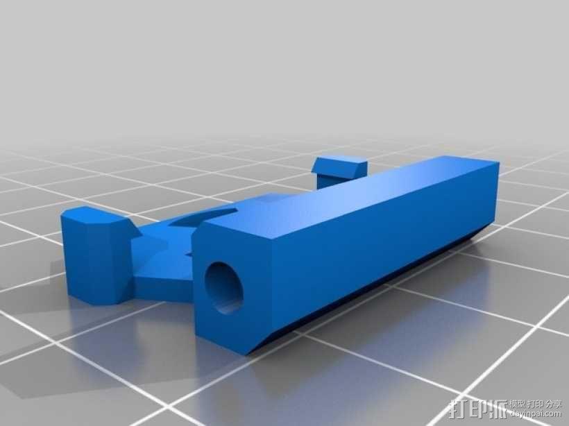 3D直接驱动挤出机 3D模型  图3