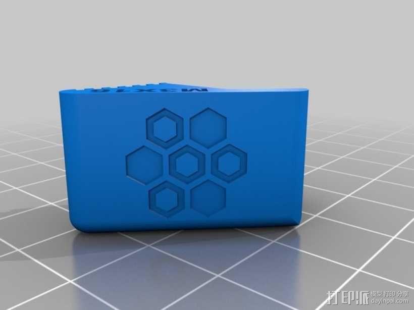 3D直接驱动挤出机 3D模型  图4
