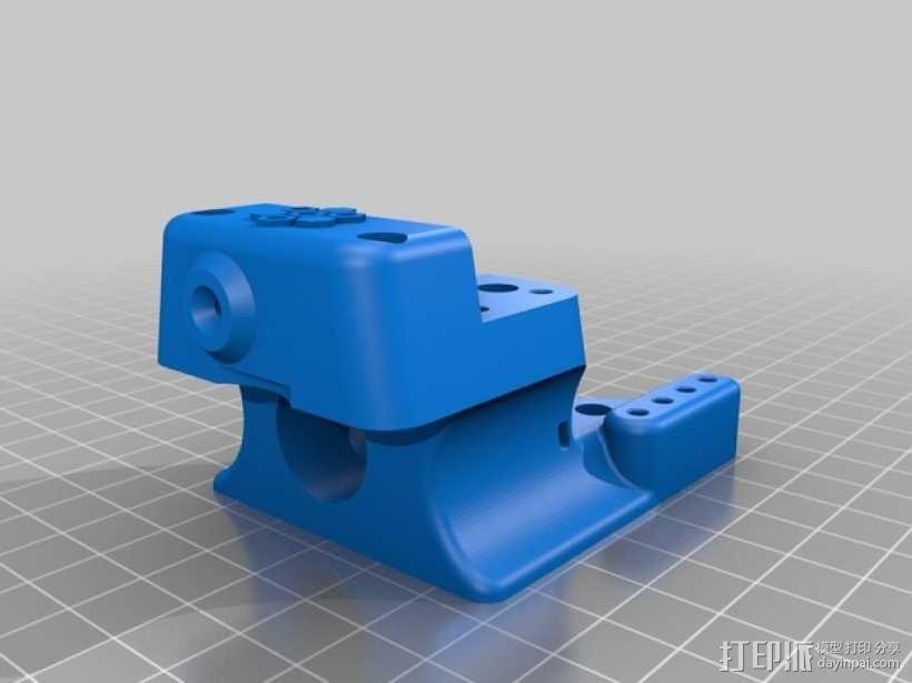 3D直接驱动挤出机 3D模型  图6