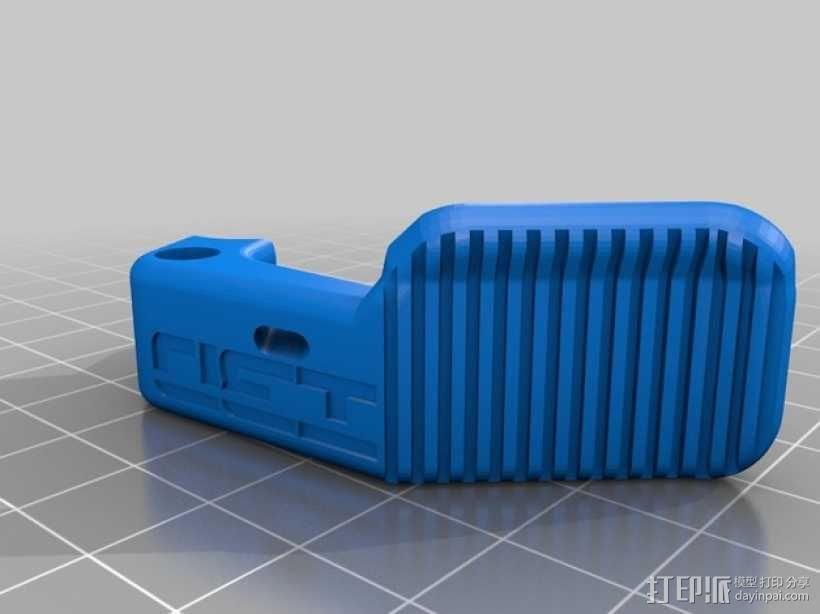 3D直接驱动挤出机 3D模型  图5
