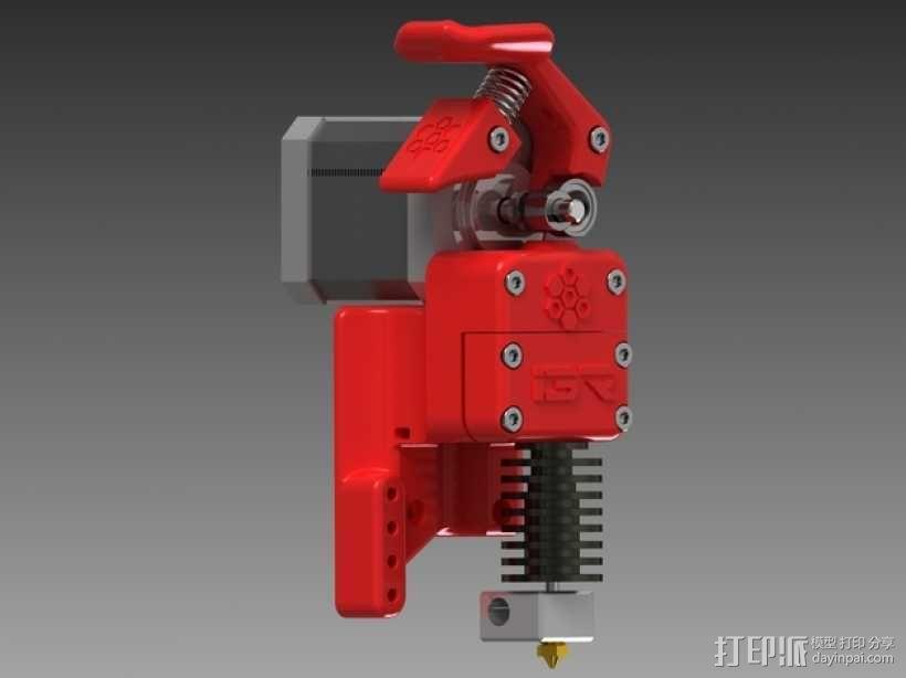 3D直接驱动挤出机 3D模型  图9
