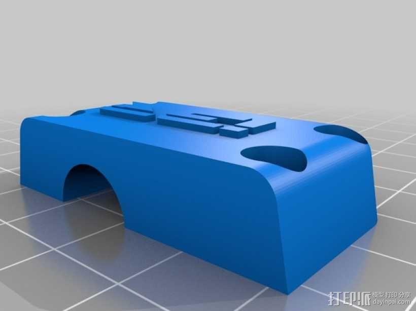 3D直接驱动挤出机 3D模型  图7