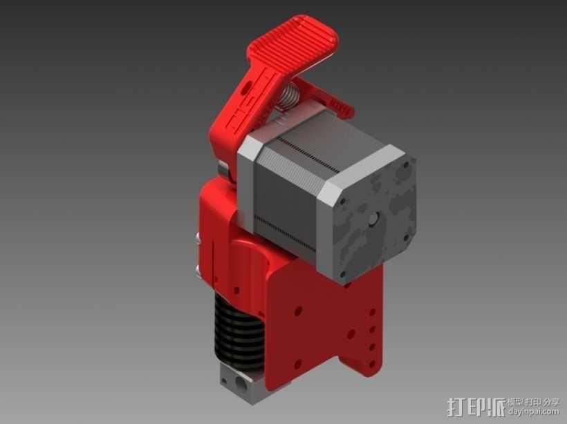 3D直接驱动挤出机 3D模型  图10