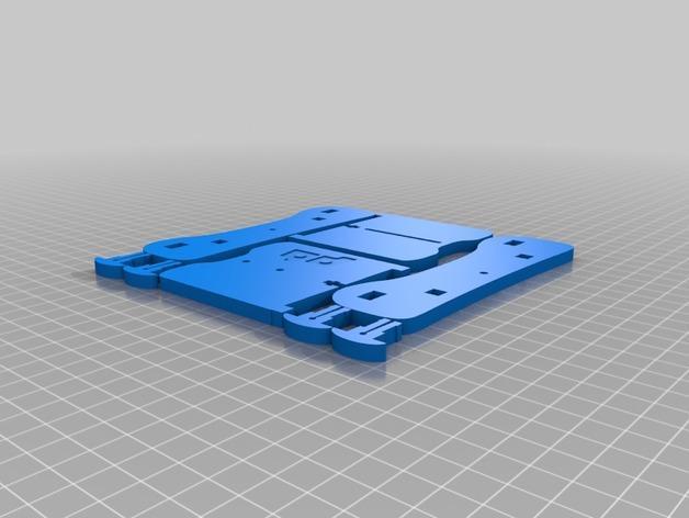卷线轴 托垫 3D模型  图6
