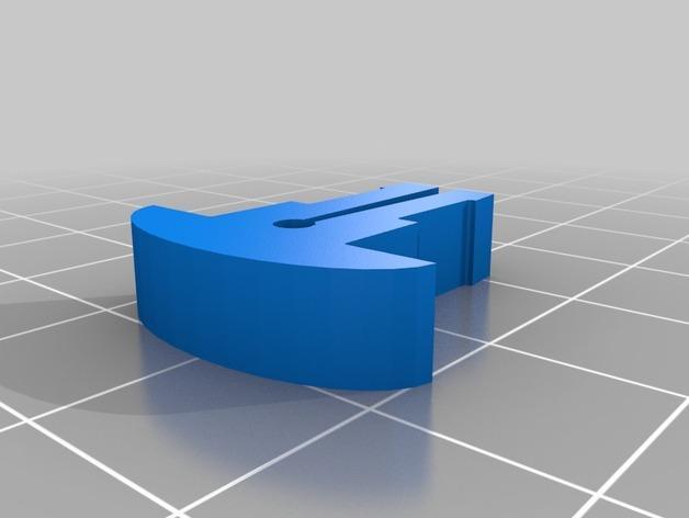 卷线轴 托垫 3D模型  图4