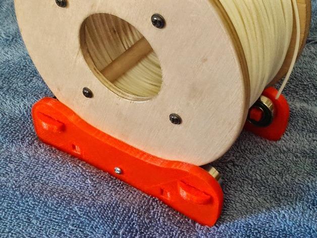 卷线轴 托垫 3D模型  图8