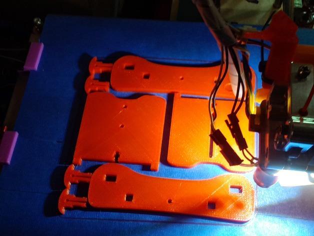 卷线轴 托垫 3D模型  图7