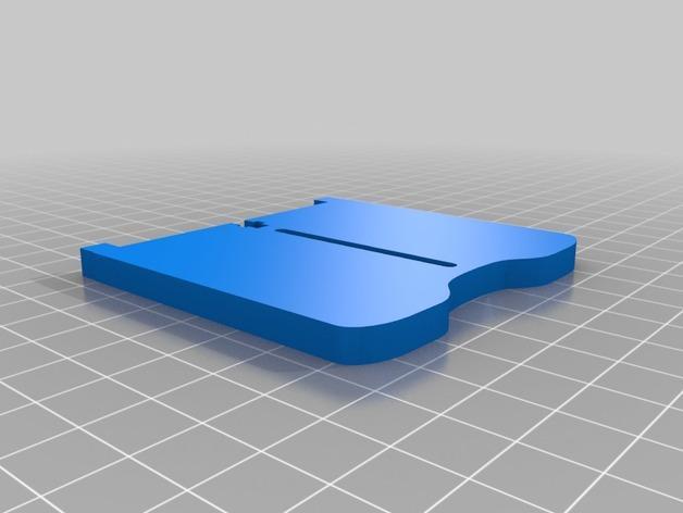 卷线轴 托垫 3D模型  图9