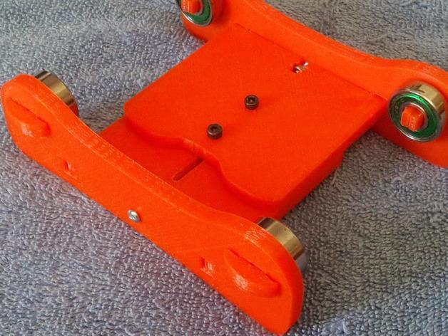 卷线轴 托垫 3D模型  图10